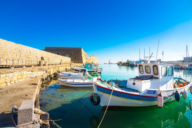 Crete Heraklion Port