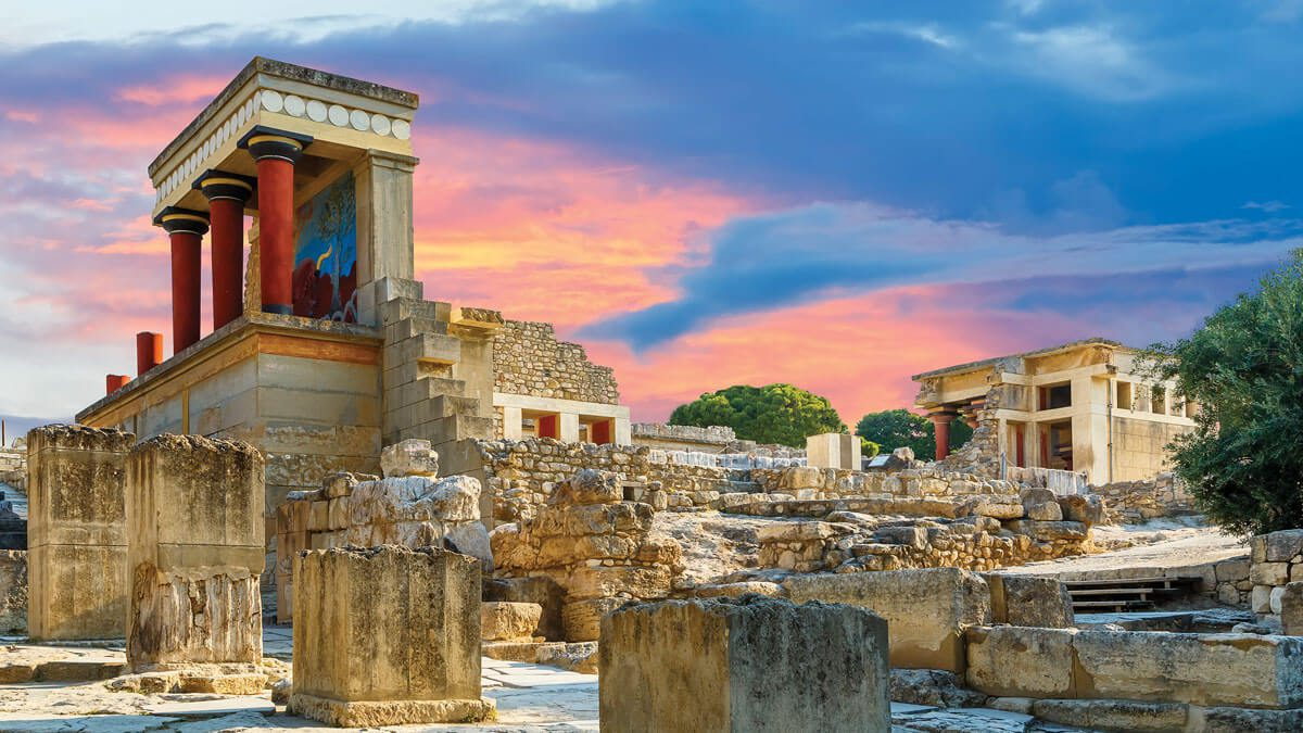 Knossos Palace Europe's first civilization